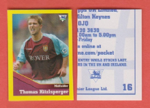 Aston Villa Thomas Hitzlsperger Germany 16 UBR